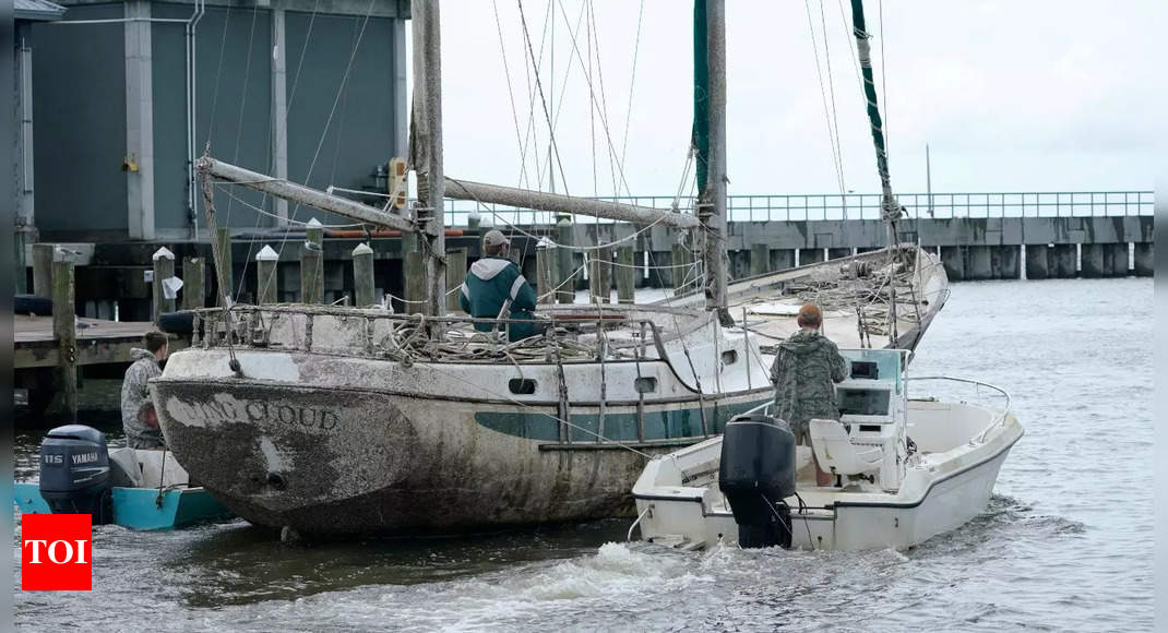 US Gulf coast braces as 'extremely dangerous' Hurricane Ida approaches – Times of India