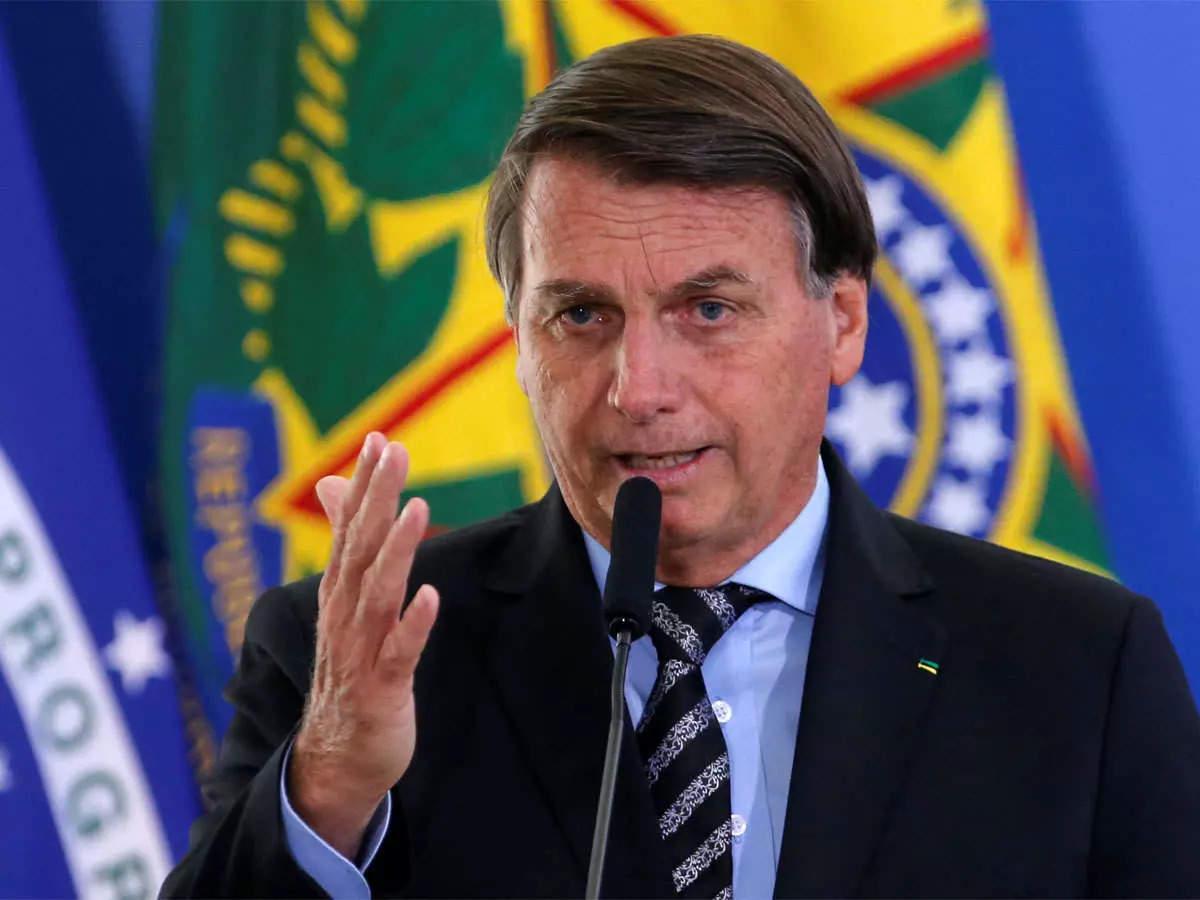 Brazilian far-right President Jair Bolsonaro says he will be arrested,  killed or declared winner - Times of India