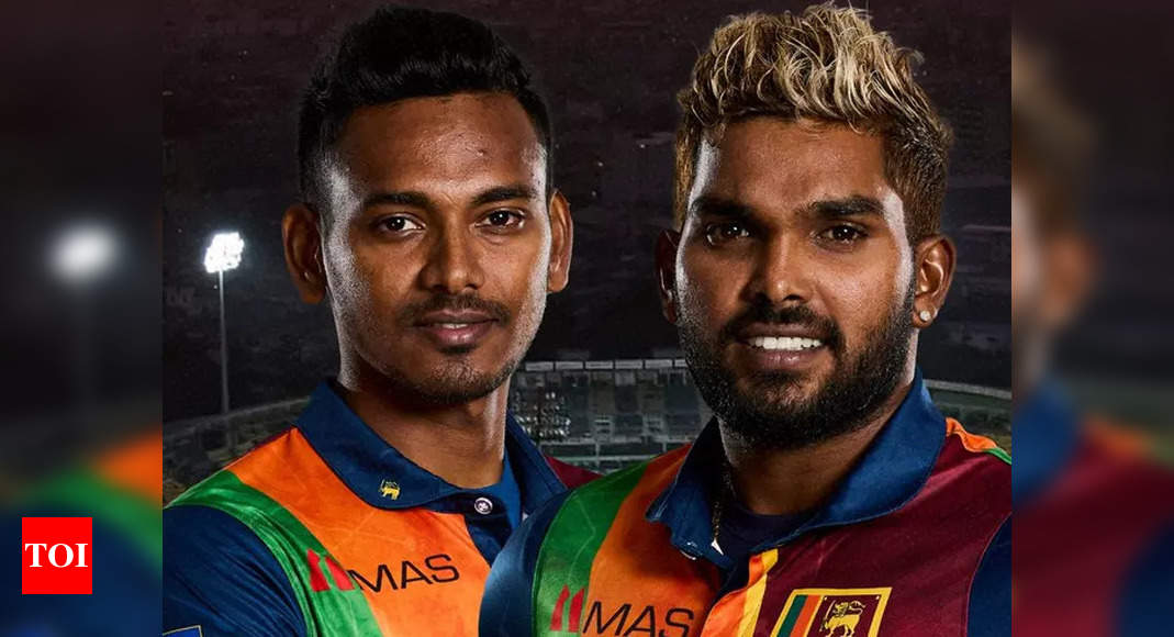 IPL 2021: Hasaranga, Chameera issued NOC from SLC to take part in UAE leg   Cricket News – Times of India