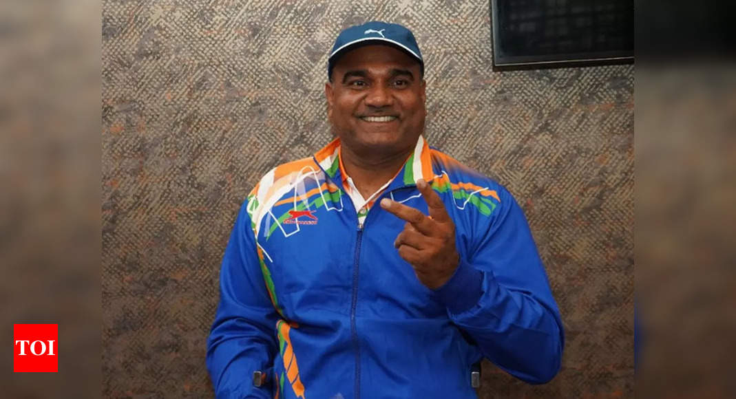 Vinod Kumar clinches bronze in discus throw, third medal for India in Paralympics   Tokyo Paralympics News – Times of India