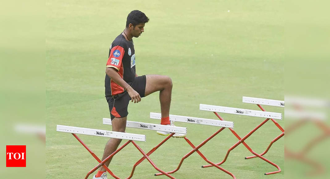 Washington Sundar to miss second-leg of IPL; selection in India's squad for T20 World Cup doubtful   Cricket News – Times of India