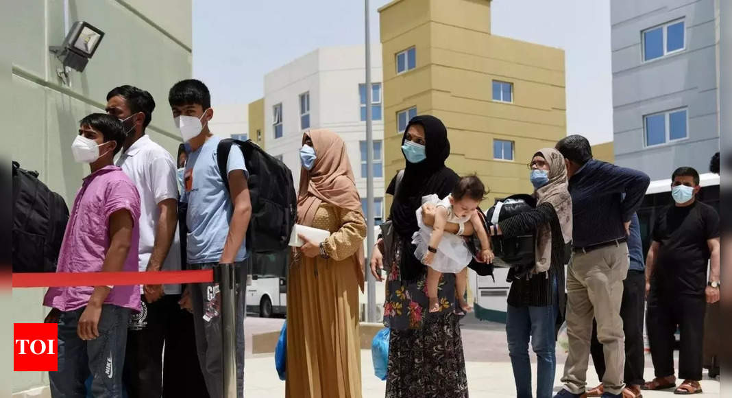 150 more Afghan evacuees arrive in Albania – Times of India