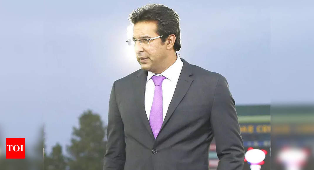 Wasim Akram was also interested in PCB chairman's post | Cricket News – Times of India