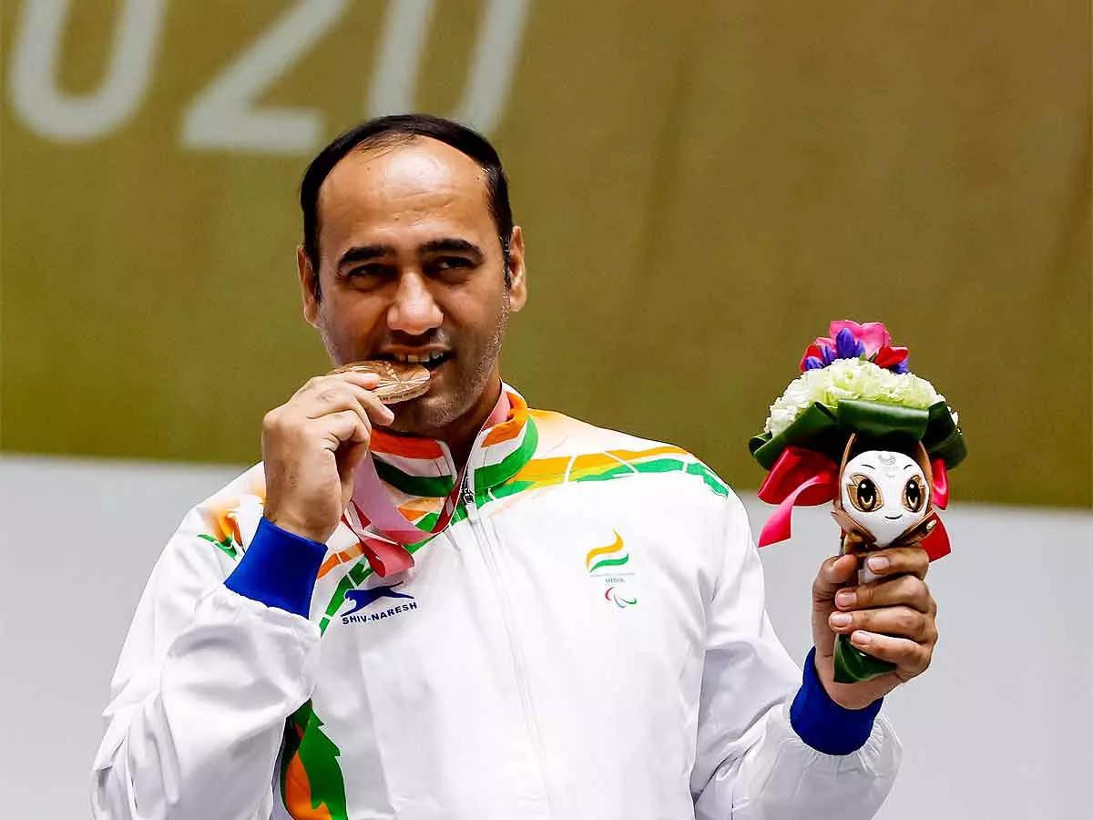 Indian Shooter Singhraj Adhana Won Bronze Medal in 10m Air Pistol