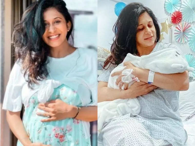 """""""Haven't felt my best"""": TV actress Kishwer Merchant shares photos of her newborn, quips about her challenging C-sec delivery"""