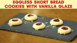 Watch: How to make Eggless Shortbread Cookies