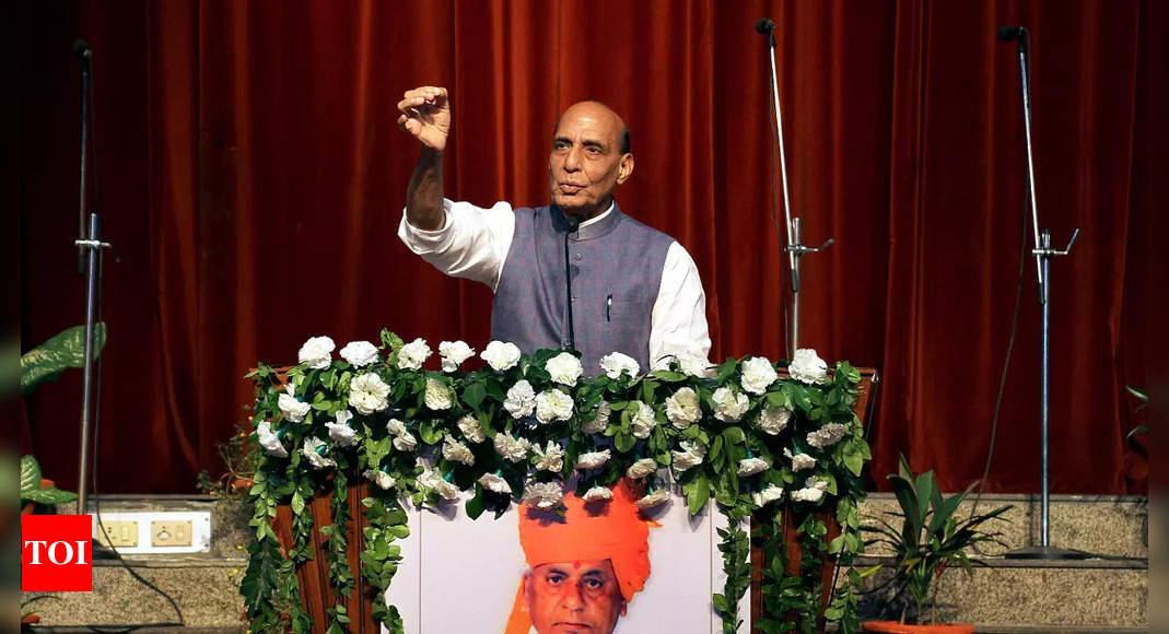 Kalyan was an amalgamation of RSS values, good governance, says Rajnath