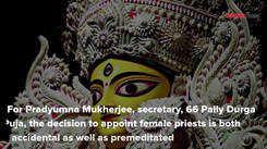 Female priests prepare for historic Durga Puja debut