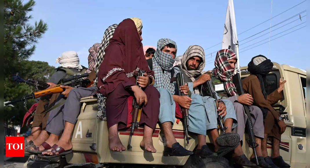 After US troops leave, focus on how Taliban will face challenges ahead – Times of India