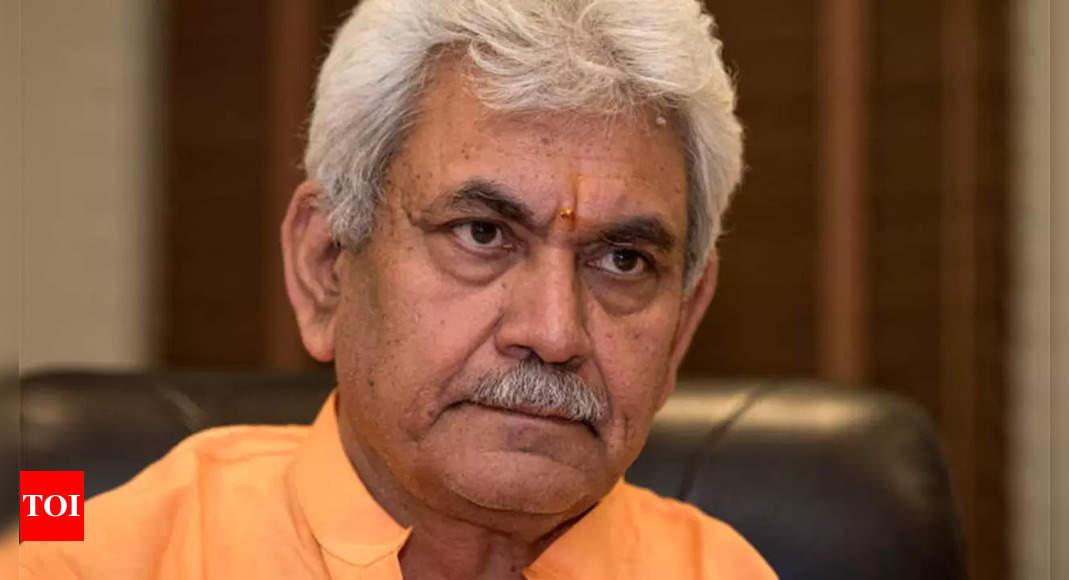 Dates of Jammu and Kashmir elections ECI prerogative, LG says