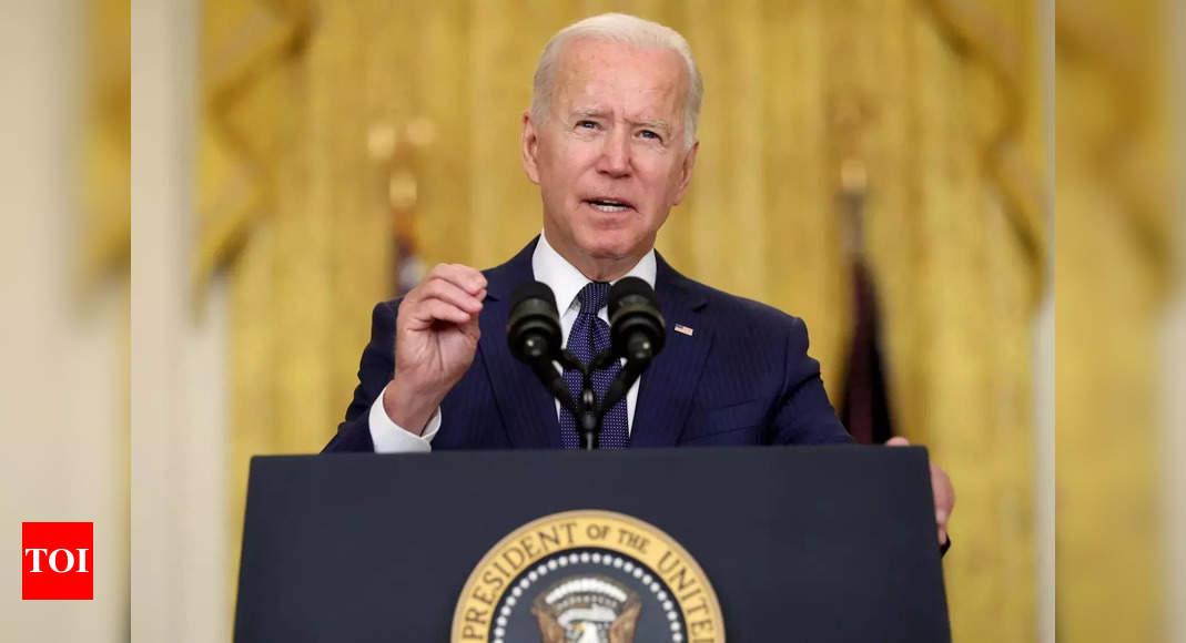 US President Joe Biden defends handling of US's Afghan withdrawal