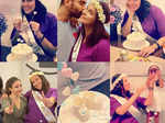 Lovely pictures from Neha Dhupia's surprise baby shower ceremony