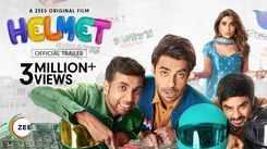 'Helmet' Trailer: Aparshakti Khurana and Pranutan Bahl starrer 'Helmet' Official Trailer
