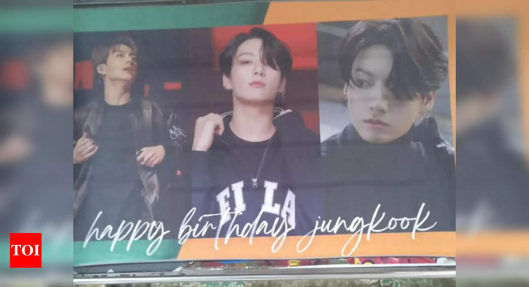 Fans celebrate with Jungkook's BDay in Mumbai