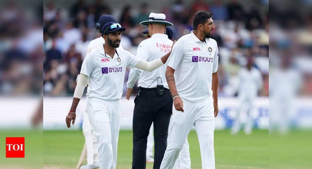 We are looking at fast bowlers' workload purely from this series' perspective: Bharath Arun | Cricket News – Times of India