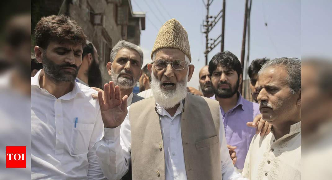 Syed Ali Shah Geelani: A hawk among separatist leadership of Kashmir