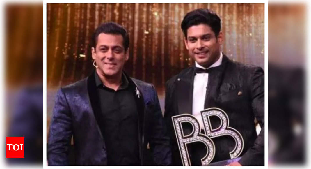 Salman mourns the demise of Sidharth Shukla