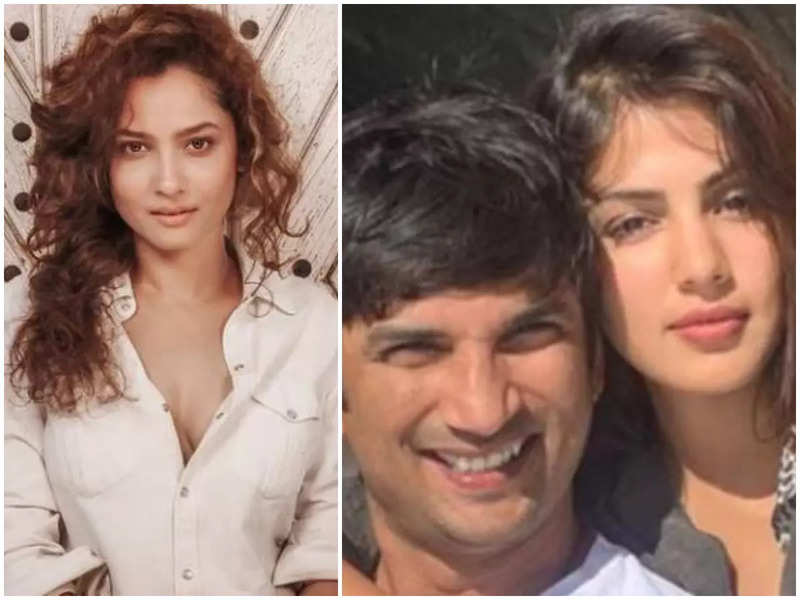 Ankita Lokhande: I didn't know about Sushant Singh Rajput's relationship with Rhea Chakraborty
