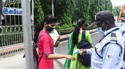 Chennai colleges reopen with caution