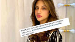 New mommy Nusrat Jahan has a message for haters, posts a picture clicked by 'Daddy'