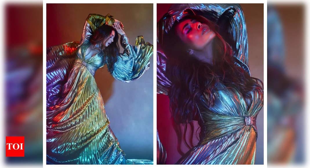 Pic: Malaika Arora stuns in a metallic outfit