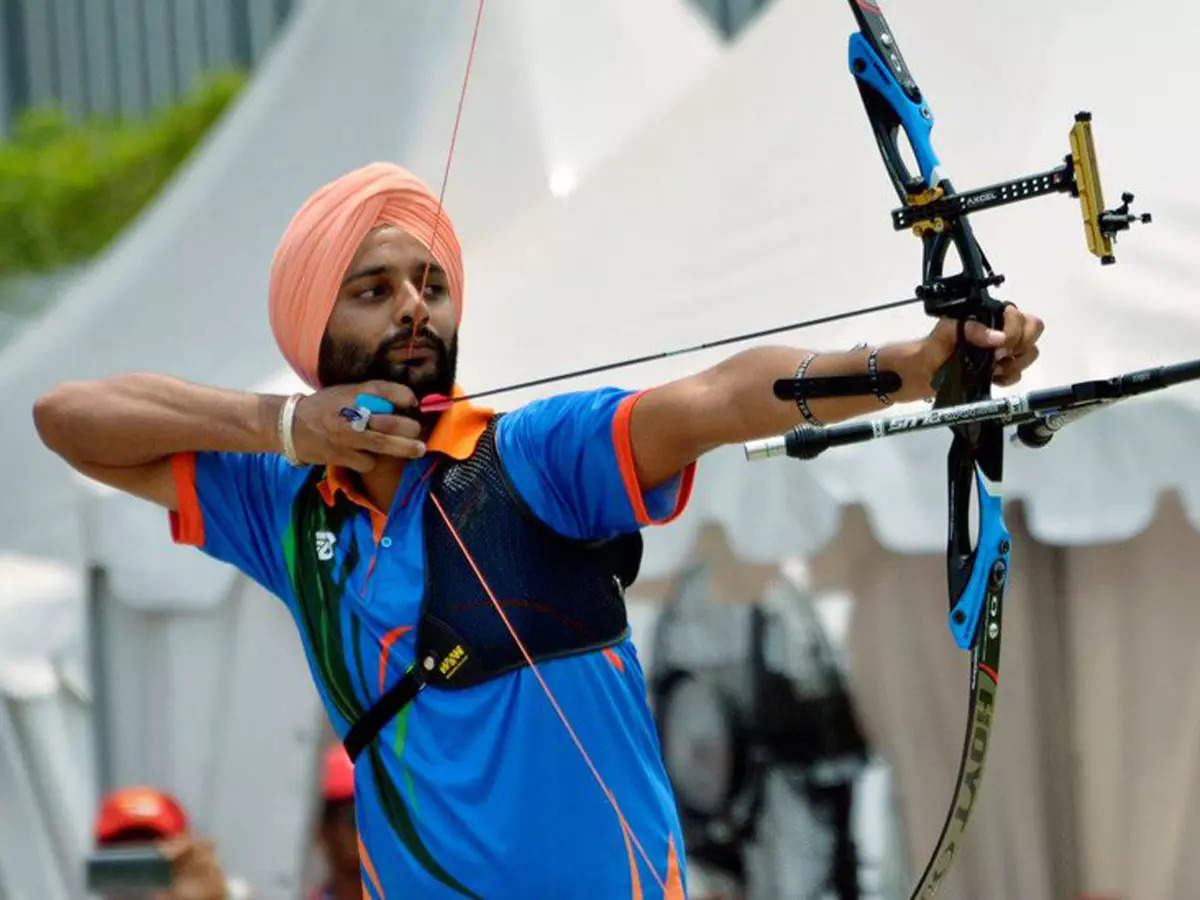 Tokyo Paralympics: Archer Harvinder Singh stages comeback to enter  quarter-finals | Tokyo Paralympics News - Times of India