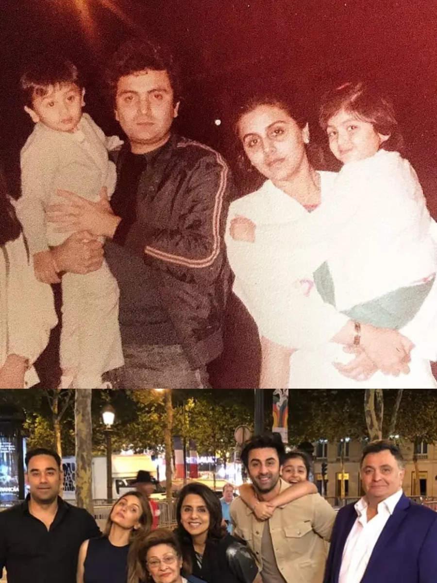 Rishi Kapoor's priceless moments with family thumbnail