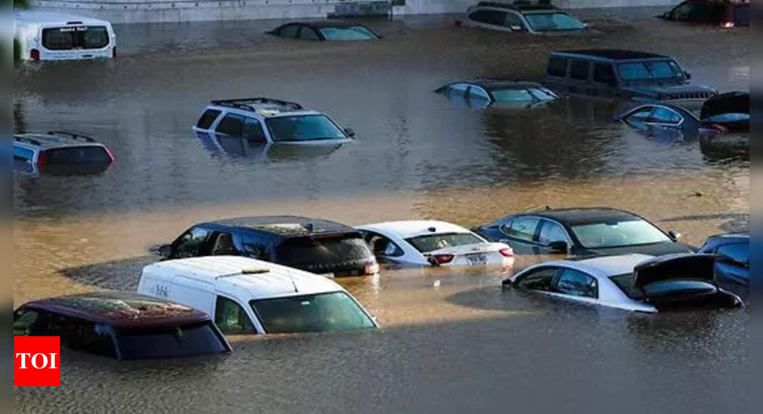 , Climate change blamed for havoc in northeast US floods, The World Live Breaking News Coverage & Updates IN ENGLISH