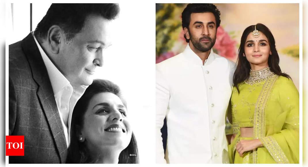 Neetu: Rishi desired to see Ranbir married