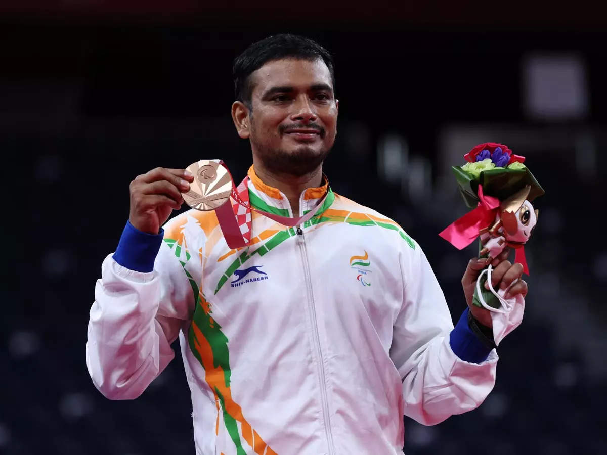 Was determined to win first game against Fujihara, says bronze medallist Manoj  Sarkar   Tokyo Paralympics News - Times of India