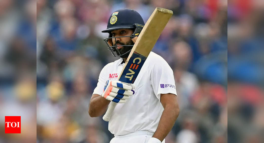 Rohit Sharma breaks Rahul Dravid's record, registers most hundreds by Indian batsman in England   Cricket News – Times of India