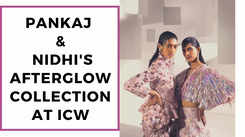 Pankaj & Nidhi's Afterglow collection