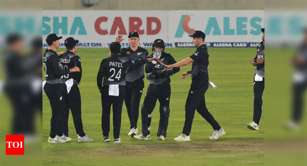 New Zealand beat Bangladesh by 52 runs in third T20I | Cricket News – Times of India