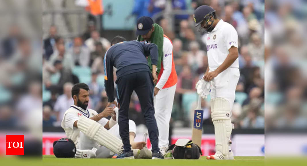 India vs England, 4th Test: Rohit, Pujara nurse niggles as India field substitutes   Cricket News – Times of India