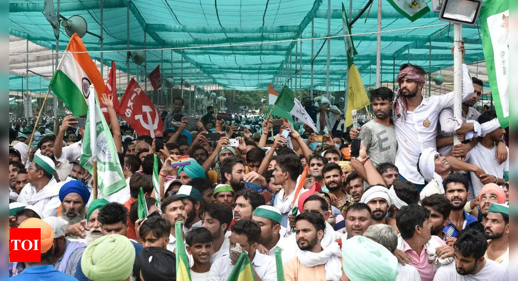 Kisan mahapanchayat, attended by over a lakh, calls for Bharat bandh on September 27