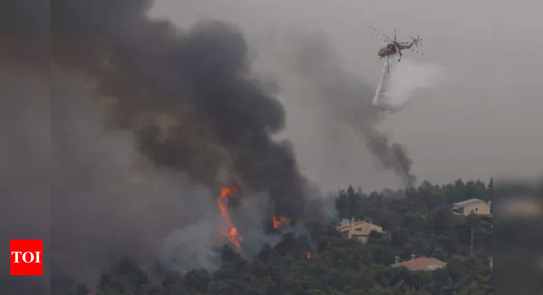 After huge wildfires, Greece creates climate crisis ministry – Times of India