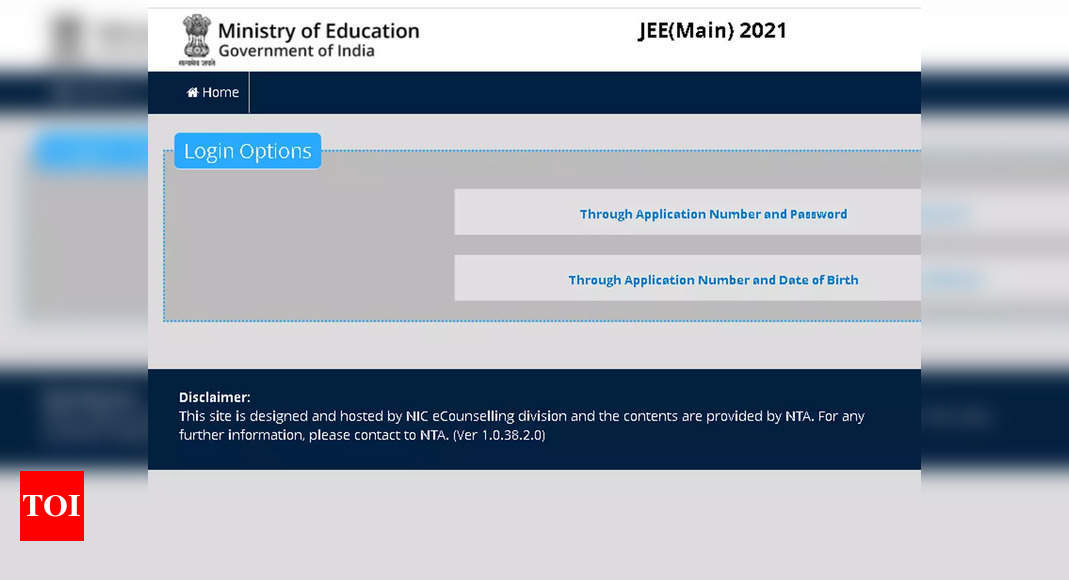 JEE Main 2021 Session 4 Answer Key released, check here