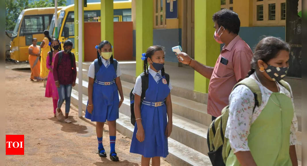 Health experts' body calls for reopening all schoolsa News – Times of India