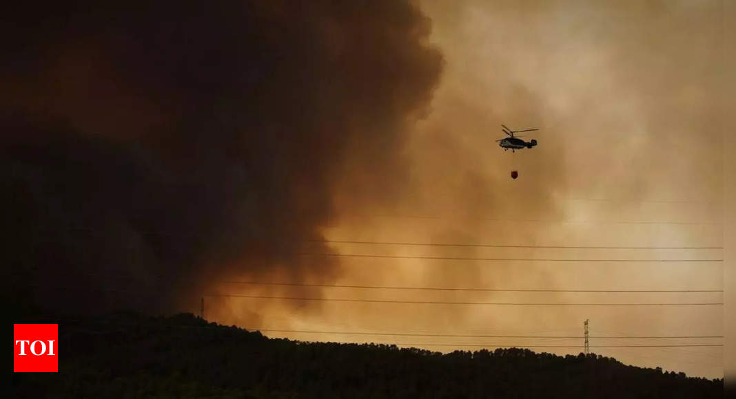 , Soldiers, planes fight intentional wildfires in Spain, The World Live Breaking News Coverage & Updates IN ENGLISH
