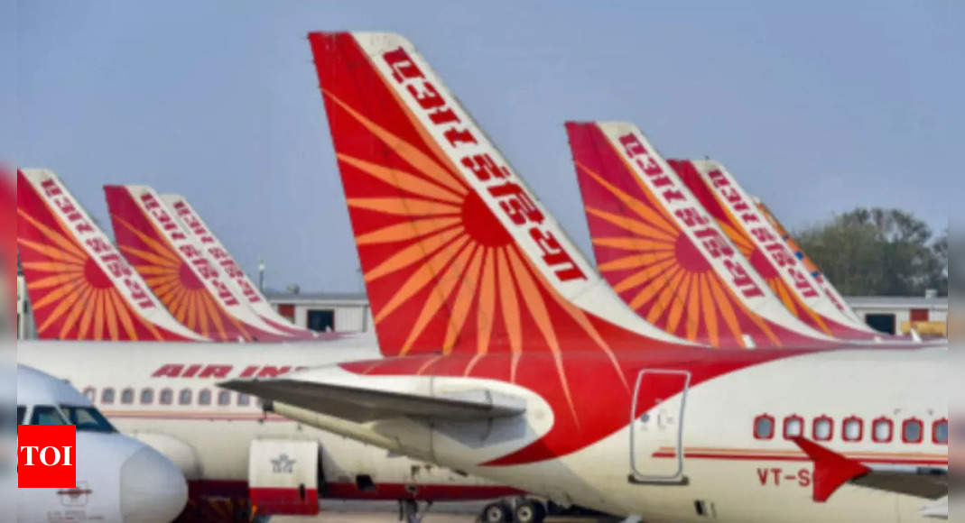 Selloff: Financial bids for Air India by September 15 – Times of India