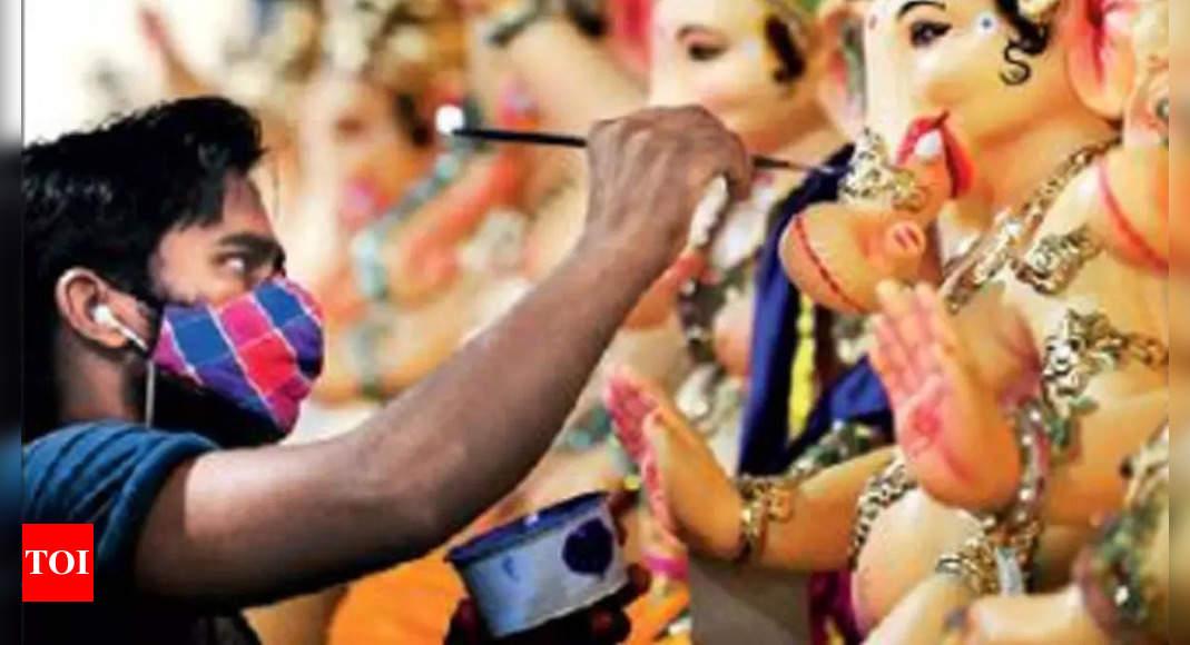 Covid-19: BMC curtails all processions for Ganpati, bans physical darshan
