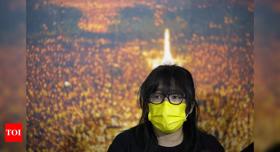 Hong Kong police arrest defiant Tiananmen vigil leaders
