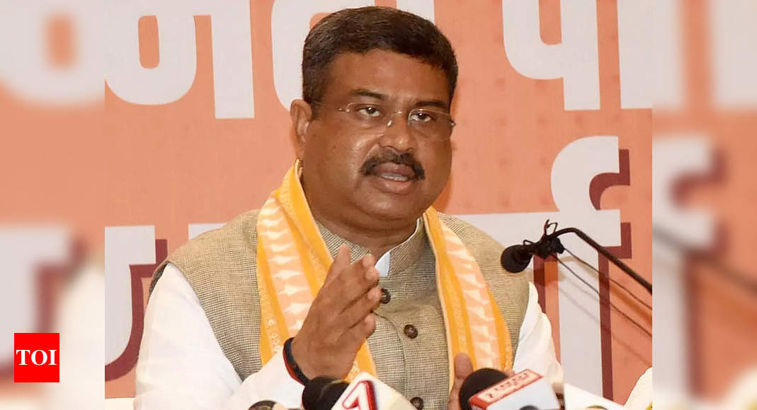 , In another OBC push, BJP sends Dharmendra Pradhan to UP as poll in charge, The World Live Breaking News Coverage & Updates IN ENGLISH