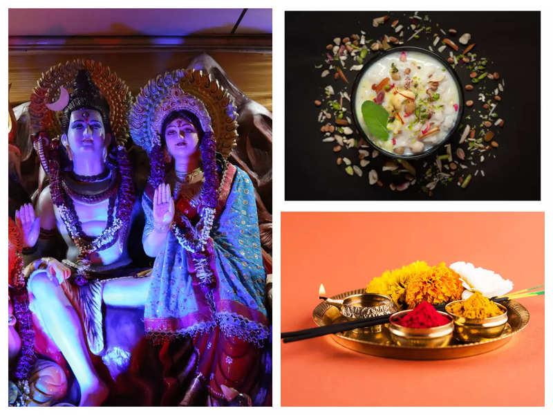 Teej 2021: Pooja vidhi and foods to eat in Hartalika Teej