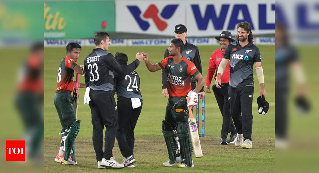 4th T20I: Bangladesh bowl out New Zealand for 93 | Cricket