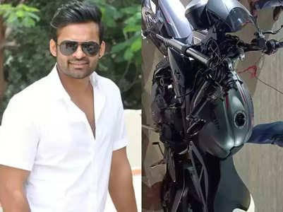Movies Live Blog! Tollywood actor Sai Dharam Tej meets with a road accident