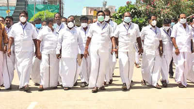 Tamil Nadu: Walk-out not to protest anti-CAA stance, says AIADMK   Chennai News - Times of India
