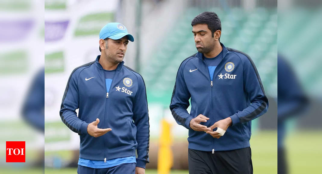 MS Dhoni to play mentor at T20 World Cup; R Ashwin included in squad, Shikhar Dhawan dropped   Cricket News – Times of India