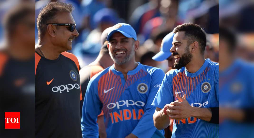 T20 World Cup: MS Dhoni, Ravi Shastri, Virat Kohli, Rohit Sharma a very potent leadership group, says former BCCI Treasurer   Cricket News – Times of India