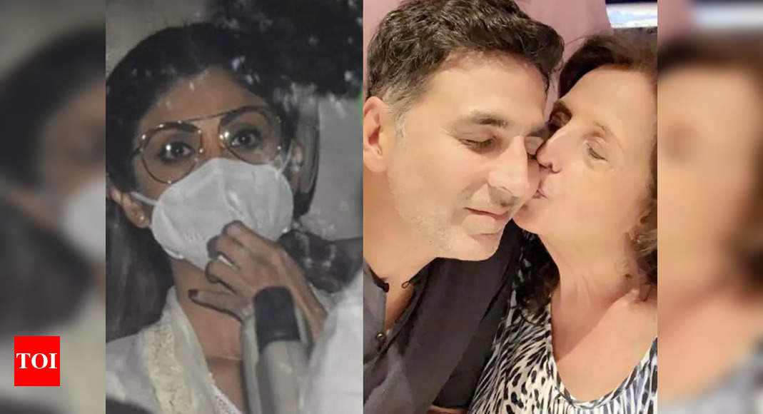 After welcoming Ganpati home, Shilpa Shetty visits bereaved Akshay Kumar to offer condolences – Times of India ►